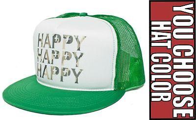New Retro HAPPY Duck HAPPY HAPPY Dynasty Uncle Si Commander Cap Hat - Uncle Si Happy Happy Happy