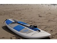 Paddleboard - 11 foot with carbon fibre adjustable paddle