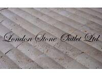 Light Travertine Honed & Unfilled Feature Wall Mosaic (4.46 m2 JOBLOT)