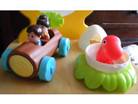 HappyLand Dino Car by Early Learning Centre - used