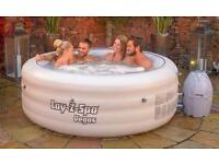 DELIVERED TODAY! Brand new lay z Spa Hot Tub Pool boxed!