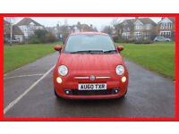2011 Fiat 500 1.2 Sport 3dr -- Hpi cleared -- Low 41500 Miles -- Services history -- Leather seats