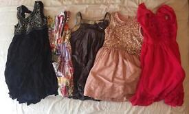 Girls Bundle of Dresses for Age 6