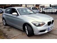 BMW 1 SERIES 1.6 116D EFFICIENTDYNAMICS 5d 114 BHP Choice of 4! (silver) 2014
