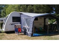 CARAVAN AWNING Inaca Mercury 420. IMMACULATE. 1 yr old. Only used TWICE! MASSIVE SAVING. May deliver