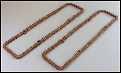SBC CHEVY 350 400 EXTRA THICK  VALVE COVER GASKETS 7483-Extra Thick.