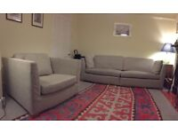 IKEA Stockholm Sofa and Large Armchair for Sale