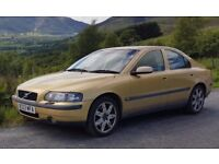 Volvo S60 Reliable, Genuine Car, FSH. Good Runner. MOT, All Receipts and History