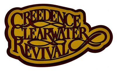 Creedence Clearwater Revival C.C.R. Sticker Decal Hippie Gypsy Biker Rock n Roll