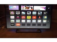 "42 "" PANASONIC SMART LED TV WIFI USB SMART PHONE CONROL CAN DELIVER IF NEEDED."