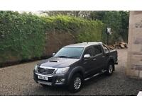 Toyota Hilux invincible 2013 plate (No Vat)