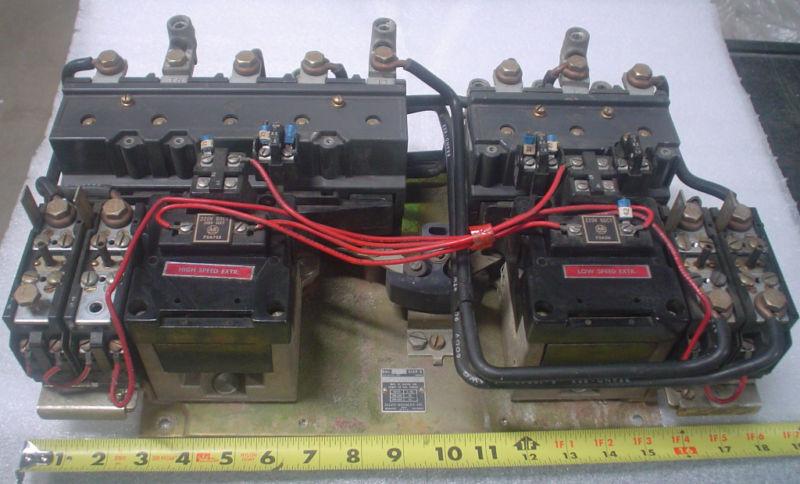 Allen Bradley 2 speed starter 715-D0F12 - 60 day warranty
