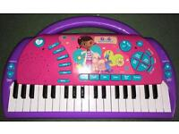Doc Mcstuffins Electronic Keyboard *New*
