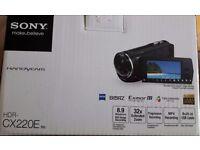 SONY HDR-CX220E handycam £100 (ONO)