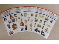NEW DK Millennium History Stickers