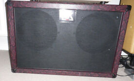 ROADKILL 2 X 12 STAG GUITAR SPEAKER CAB - LOADED CELESTION.