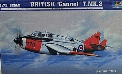 Trumpeter 1/72 British Fairey Gannet  T MK 2 Model Kit New 1630, used for sale  Shipping to Canada