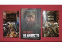3 'Warhammer 40K' Books
