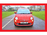 (41500 Miles) --- 2011 Fiat 500 SPORT 1.2 --- half LEATHER Seats --- Low Mileages ---Sporty Fiat 500