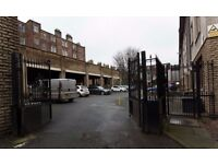 Single car park space to rent in private secure car park located just off Lochrin Place.
