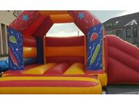 Bouncy castle hire and mascot hire
