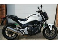 2013 HONDA NC 700 SA-D WHITE