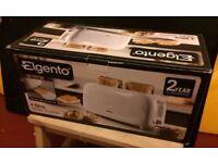 NEW Elgento 4 slice toaster E20011 1200W