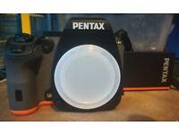 Pentax K-S2 twin lens SLR