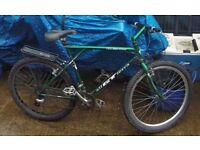 GT timberland retro 90's mountain bike bicycle