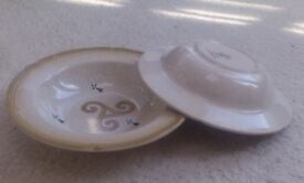 French deep plates/ bowls x 2 ... with many uses ...