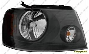 Head Lamp Passenger Side (With Medium Gray Background) High Quality Ford F150 2007-2008