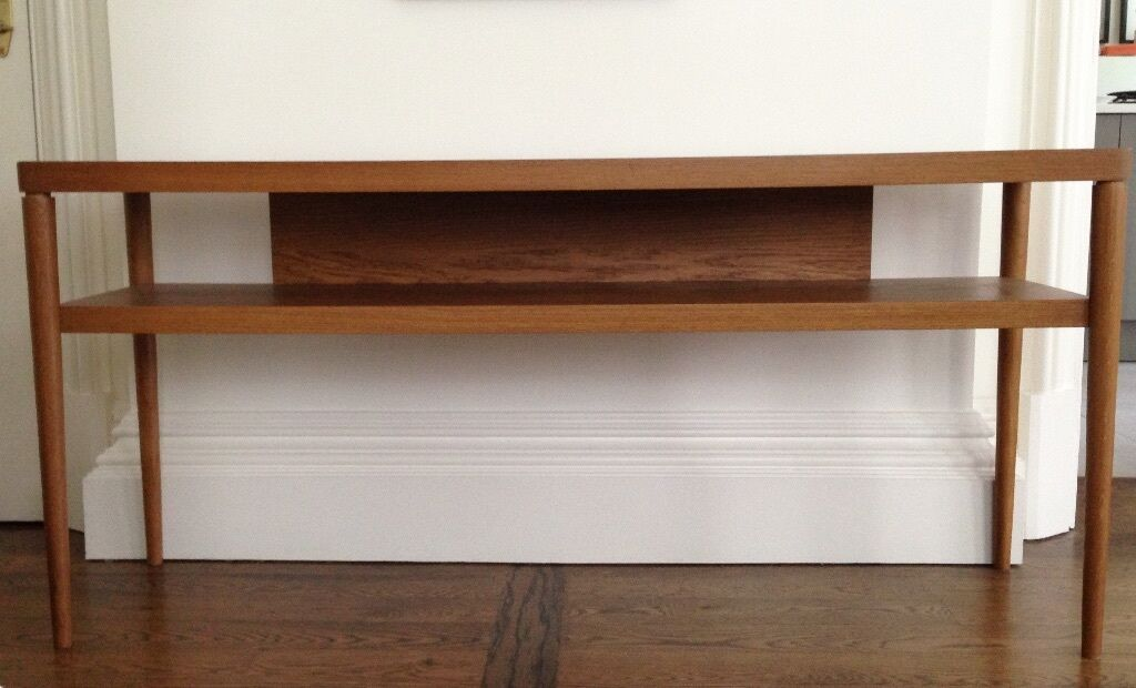 Ikea stockholm console table in victoria london gumtree for Meuble console ikea