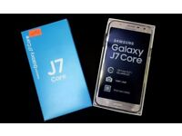 SAMSUNG GALAXY J7 CORE UNLOCKED BRAND NEW BOXED COMES WITH WARRANTY & RECEIPT