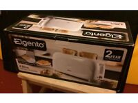 NEW Elgento 4 slice toaster E20011 1200W