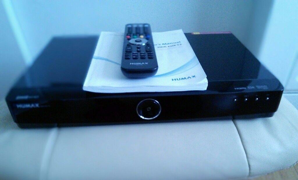 Humax HDR-FOX T2 Set Top Box Recorder