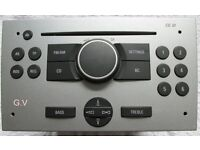 VAUXHALL CORSA 2005 GENUINE CAR STEREO/CD PLAYER