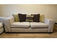 Three seater sofa (beige)