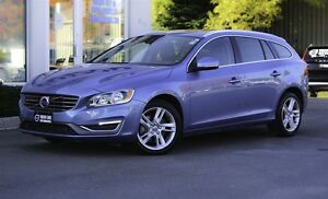 2015 Volvo V60 T5 PREMIER PLUS! 160KM FULL VOLVO WARRANTY!