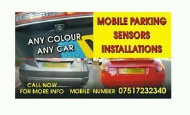 Mobile parking sensors installation