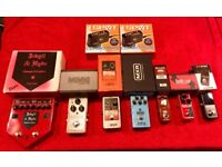 TC Electronic, MXR, Electro Harmonix, Mooer, Visual Sound Guitar Pedal Clearout