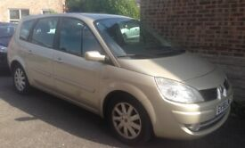 Renault Scenic - 7 seats. FSH. New MOT. Good condition. Looking for a quick sale.