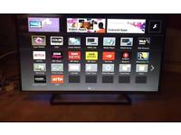"""42 """" PANASONIC SMART LED TV WIFI USB SMART PHONE CONROL CAN DELIVER IF NEEDED."""