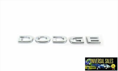 DODGE EMBLEM BADGE CHARGER CHALLENGER DART CALIBER NAMEPLATE VIPER NITRO NEW