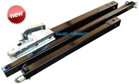 SMC-Direct 3.5 Ton CAR TOW POLE RECOVERY TOWING BAR 3PC PROFESSIONAL RANGE Heavy Duty