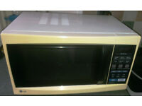 LG Microwave with Grill function, model MH-6346