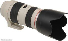 CANON 70 - 200mm 2.8 IS USM lens (MK 1)