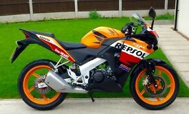 Stunning immaculate CBR 125R Only 1500 miles (YZF-R, MT) UK DELIVERY AVAILABLE