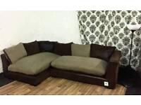 Ex display dfs madison corner sofa*free delivery*