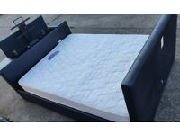 TV Bed King Size and Mattress - can deliver