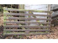 Small farm gate